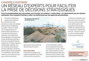 Canopée & Partners, sites et sols pollués Le Moniteur